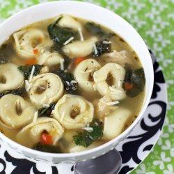 Cheese Tortellini Soup recipe