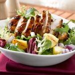 Grilled Chicken Salad With Pineapple recipe