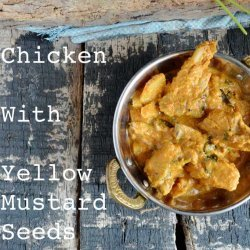 Chicken With Mustard Gravy recipe