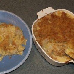 Cheesy Scalloped Cabbage recipe