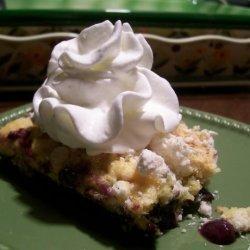 Healthyish Blueberry Dump Cake recipe