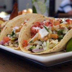 Tommy Bahama's Blackened Cabo Fish Tacos recipe
