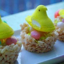 Easter Egg Nest Treats recipe