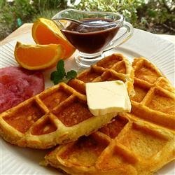 Malted Milk Waffles recipe