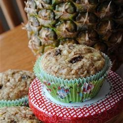 Pineapple Muffins recipe