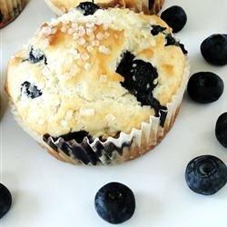 Blueberry Nut Muffins recipe