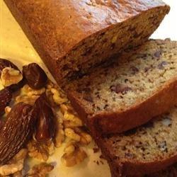 Date Orange Bread recipe