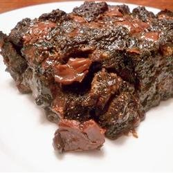 Double Chocolate and Spice Bread Pudding recipe