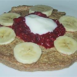 Whole Wheat and Quinoa Pancakes recipe