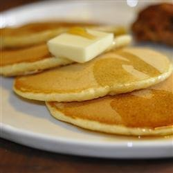 Raised Griddle Cakes recipe