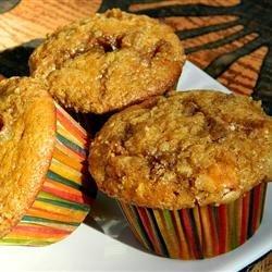 White Chocolate Cranberry Pumpkin Muffins recipe