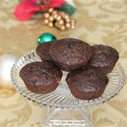 Cappuccino Muffins with Chocolate and Cranberries recipe