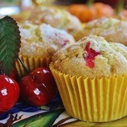 Moist Cranberry Pecan Muffins recipe