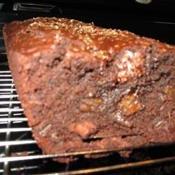 Chocolate Date Loaf II recipe
