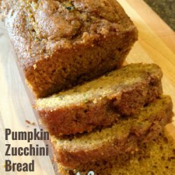 Zucchini Bread, Pumpkin Style recipe