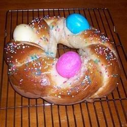 Easter Bird's Nest Bread recipe