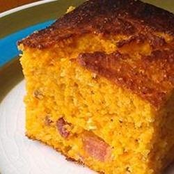 Bacon Sweet Potato Cornbread recipe