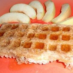 Dairy and Wheat Free Apple-Cinnamon Spelt Waffles recipe