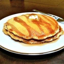 100% Whole Wheat Pancakes recipe