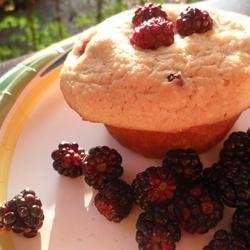 Delicious Gluten-Free Blueberry Corn Muffins recipe