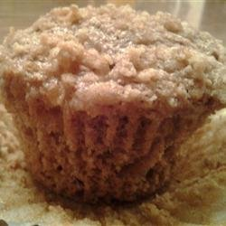 Apple Streusel Bran Muffins recipe