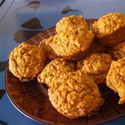 Healthy Pumpkin Zucchini Muffins recipe