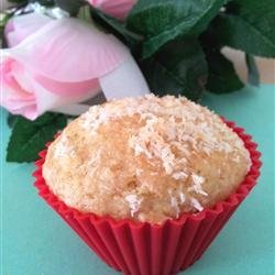 Coconut Mango Muffins with Candied Ginger recipe