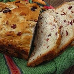 Cranberry Orange Bread (For Bread Machine) recipe