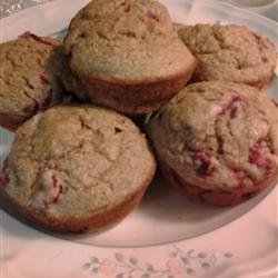Healthy Strawberry Muffins recipe