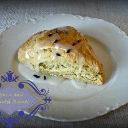 Lemon and Lavender Scones recipe