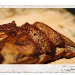 Nutty Banana Chocolate Chip Bread recipe