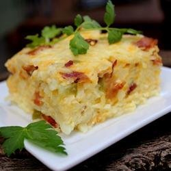 Easter Breakfast Casserole recipe
