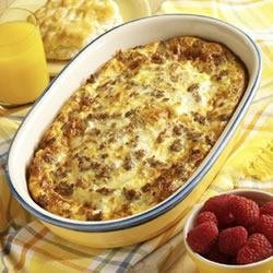 Weekend Brunch Casserole recipe