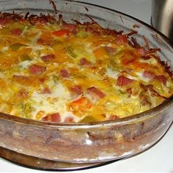 Hash Brown Quiche recipe