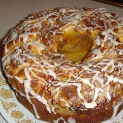 Easy Apple Coffee Cake recipe