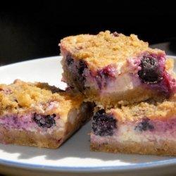 Lemon Blueberry Cheesecake Bars recipe