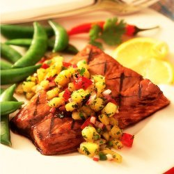 Salmon With Pineapple Salsa recipe