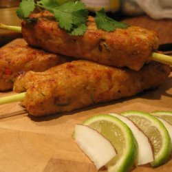 Fish Kabobs recipe