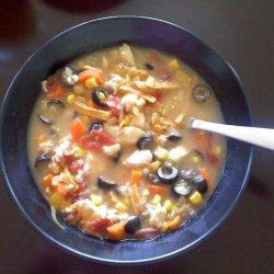 Easy Chicken Tortilla Coup recipe