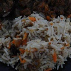 Afghanistan: Kabuli Pulao recipe