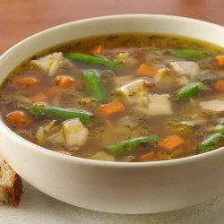 Chiarello's Next Day Turkey Soup recipe