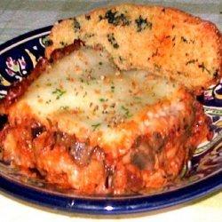 Mamma Mia! Fresh Italian Eggplant Parmigiano! recipe