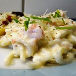 Farfalle Al Salmone Affumicato (Pasta With Smoked Salmon Cream) recipe