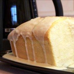 Glazed Almond Pound Cake recipe