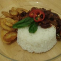 Rice and Veg Beans Platter Meal(Vegetarian) recipe