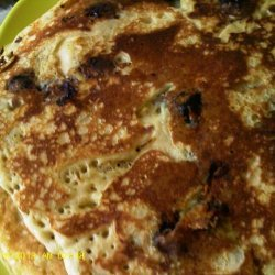 Dee's Blueberry Oatmeal Wheat Pancakes recipe