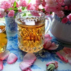 Rose Cottage Fragrant Old English Rose Liqueur Syrup recipe