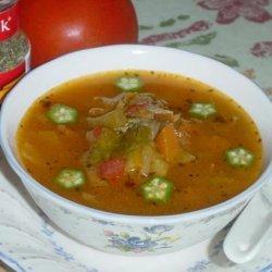 Healthy Italian Vegetable Soup recipe