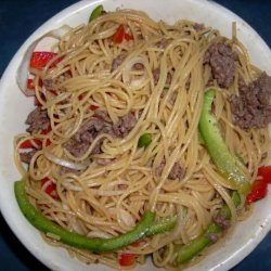 La Choy Asian Beef Noodle Salad recipe