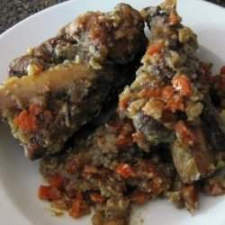 Braised Short Ribs in Vegetable Ragout recipe
